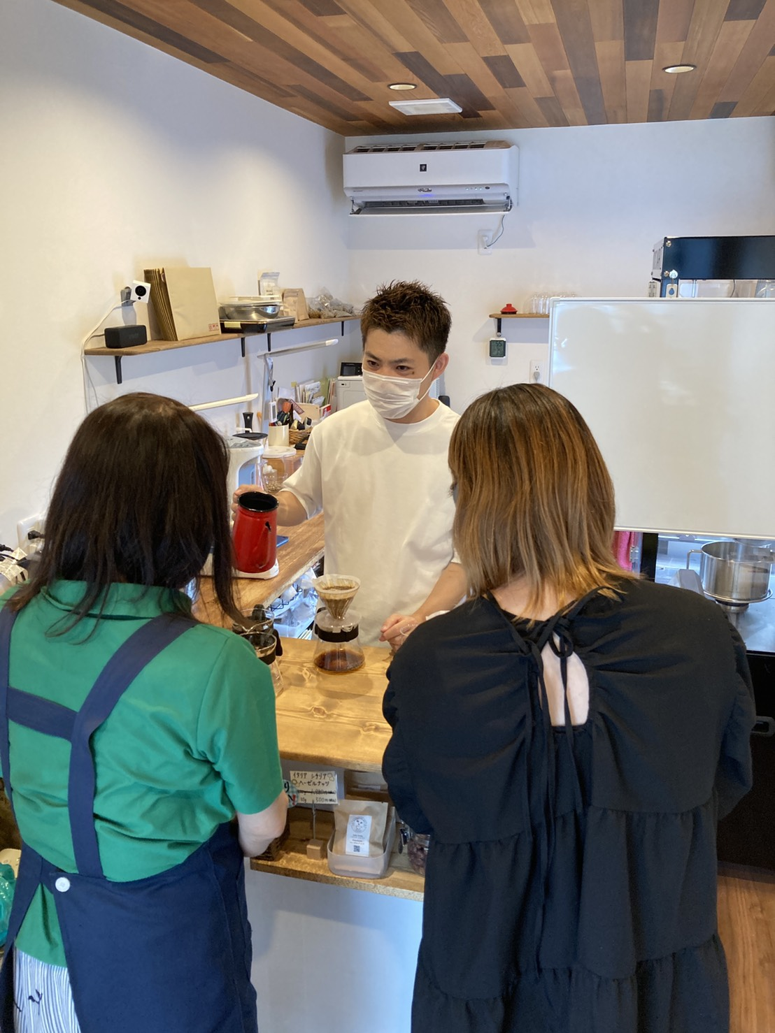 """岐阜 大垣 コーヒー教室 焙煎幸房""""そら"""" 珈琲 専門店"""